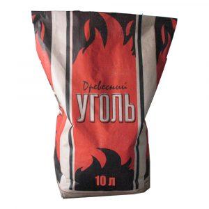 Уголь Древесный 10 литров