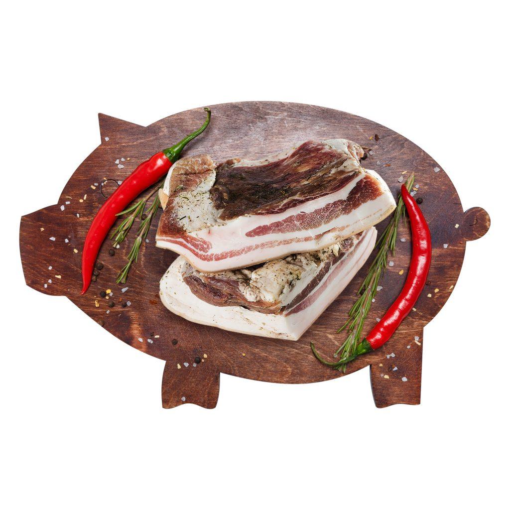 Сало с прослойкой соленое Свинина (собственное пр-во)