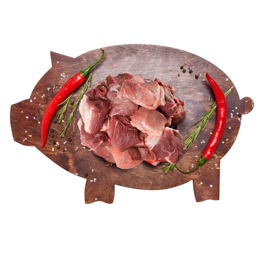 Шашлык не маринованный Свинина (собственное пр-во)