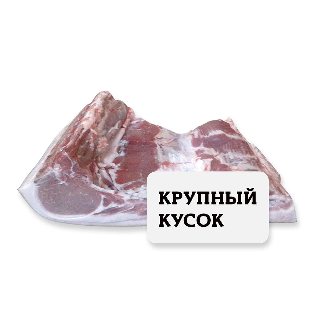 Антрекот с ребром и брюшиной Свинина (собственное пр-во) Крупный кусок