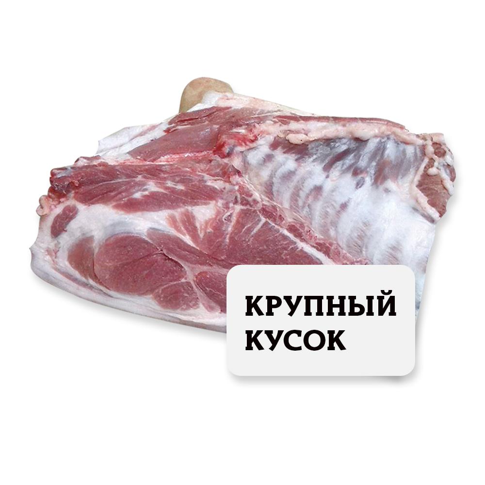 Лопатка с грудным ребром Свинина (собственное пр-во) Крупный кусок