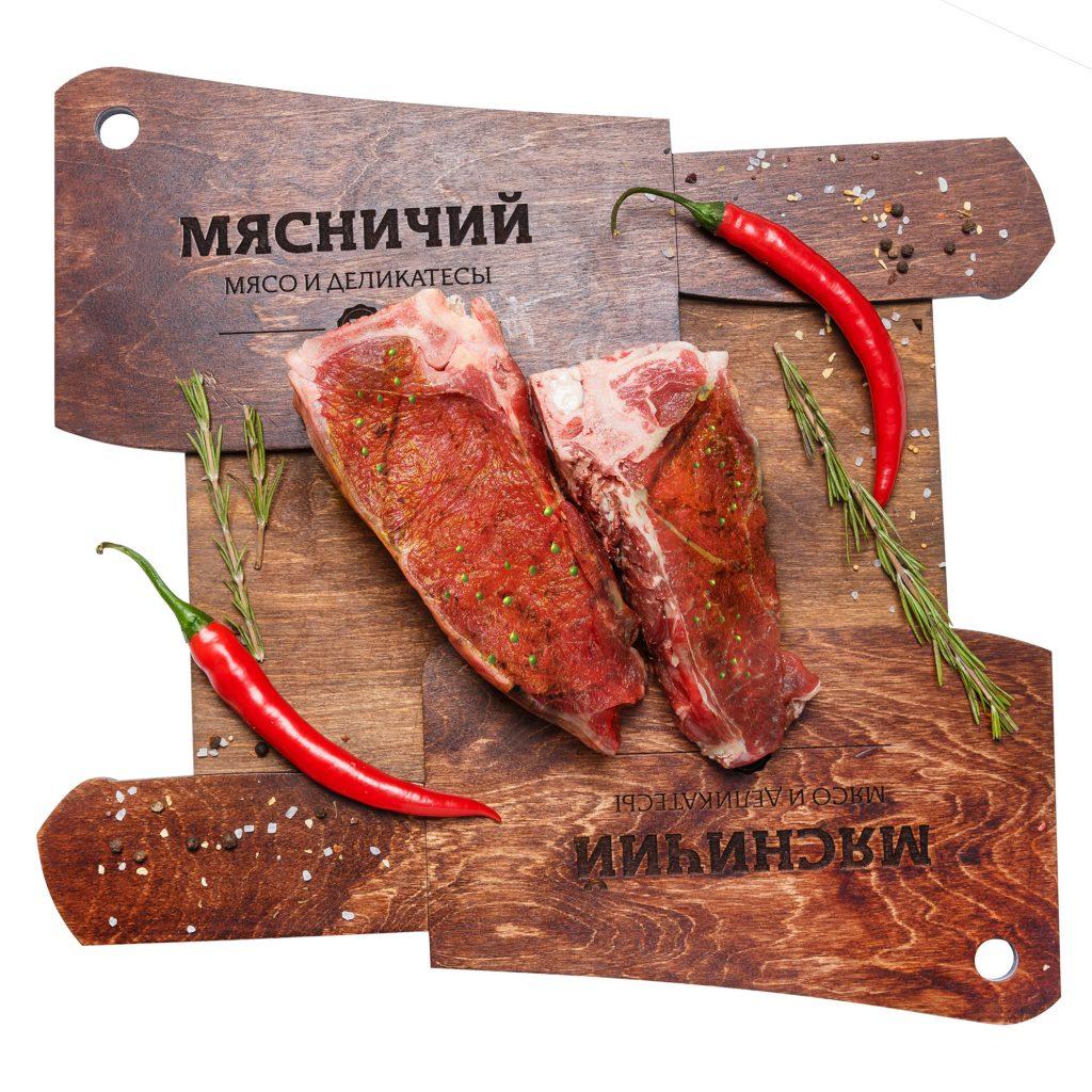 Антрекот маринованный Говядина (собственное пр-во)