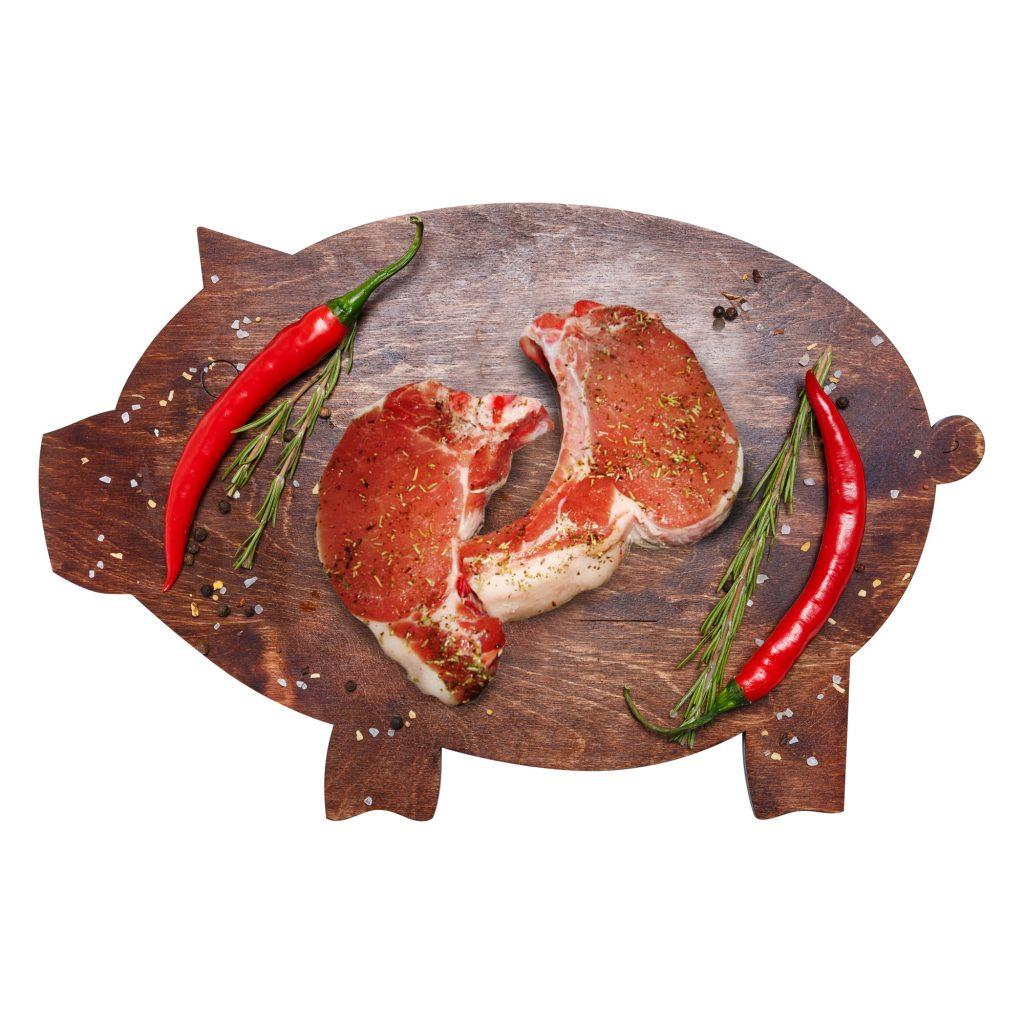 Антрекот на кости Свинина маринованный (собственное пр-во)