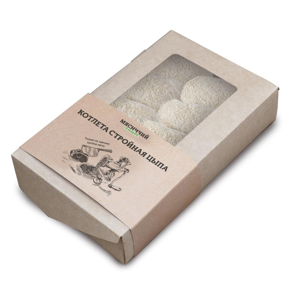 Котлета Стройная Цыпа с/м 1 кг Мясничий