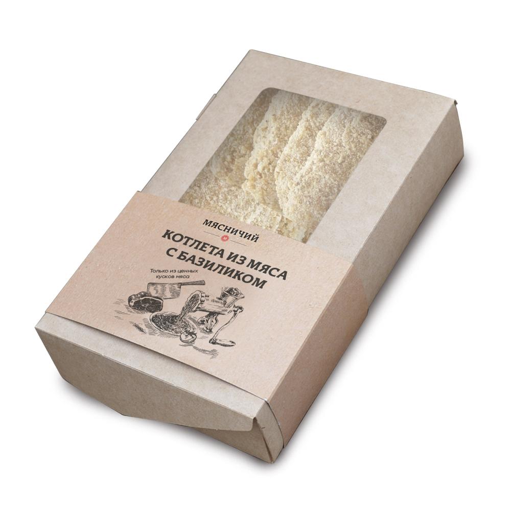 Котлеты из мяса с базиликом (собственное производство)