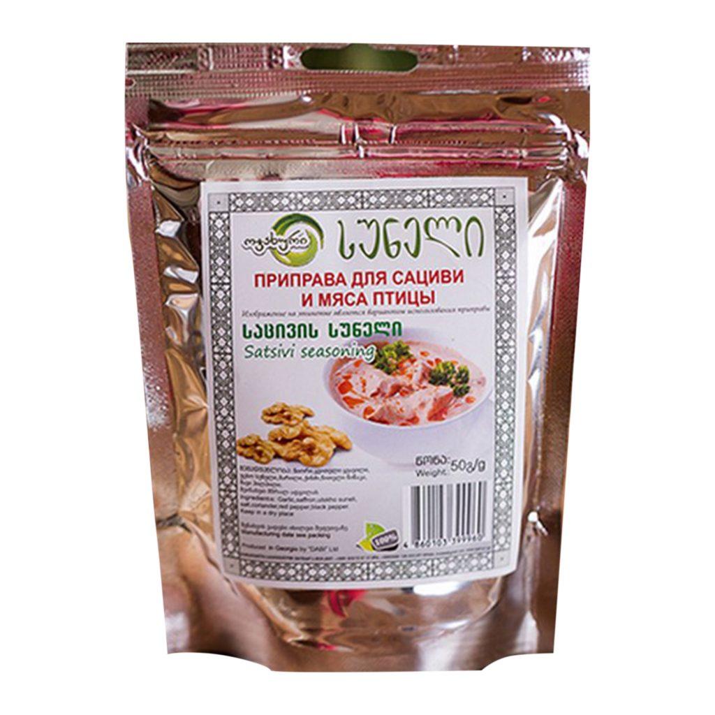 Приправа для сациви  и мяса птицы  50г Самеба