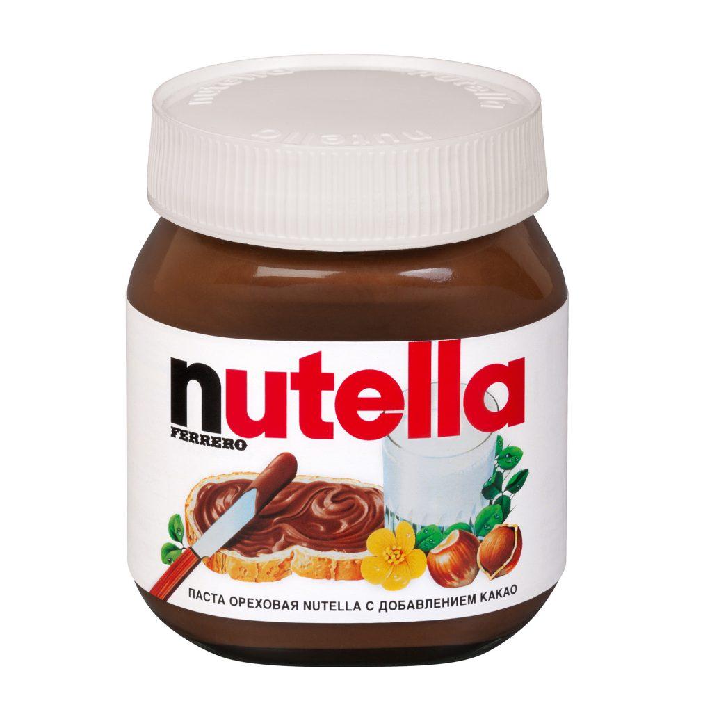 Паста ореховая Нутелла с добавлением какао 350г