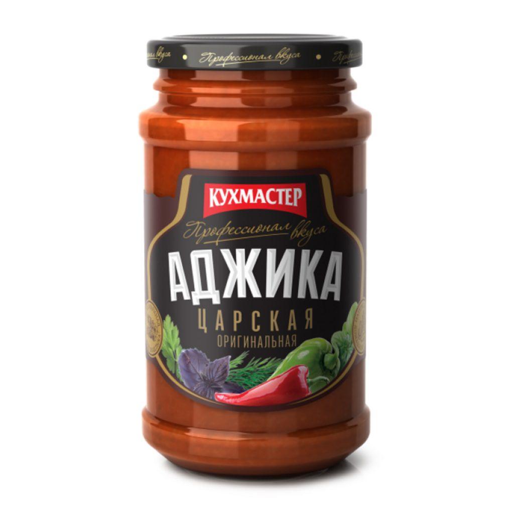Аджика Кухмастер Кавказская 190гр ст/б