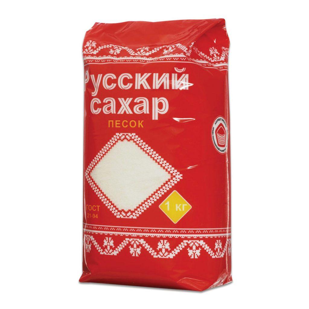 Сахар песок Русский 1кг пакет