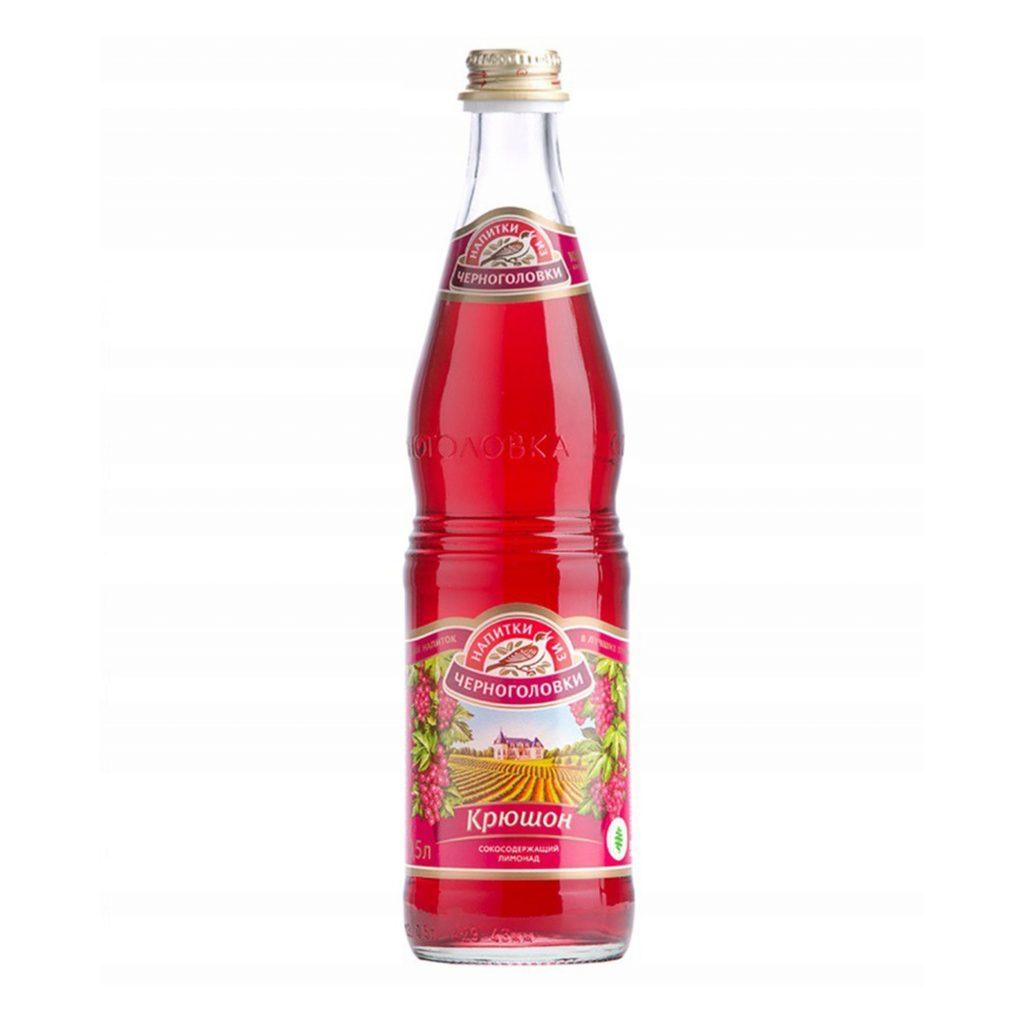 Напиток Аквалайф Крюшон сильногазированный 0,5л ст/б