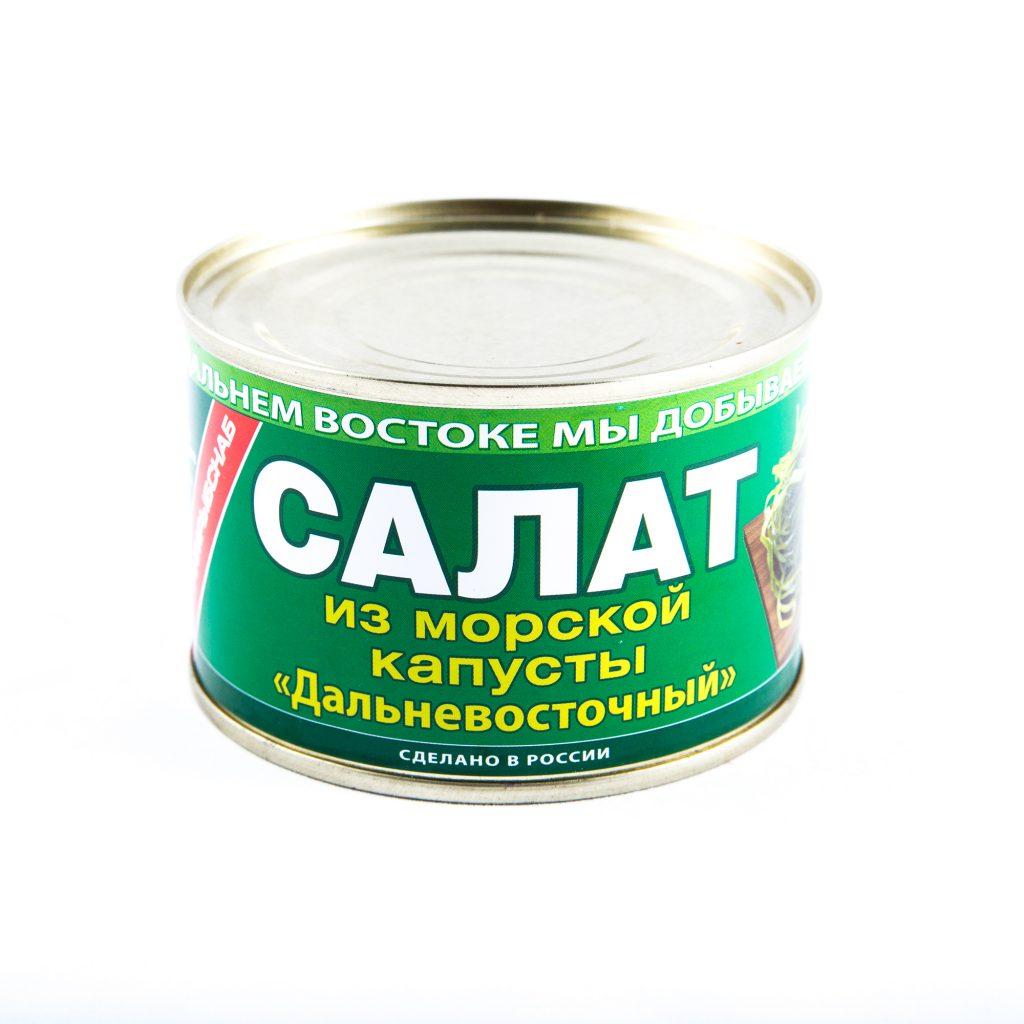 Салат Дальневосточный из морской капусты №6 220г Южморрыбфлот