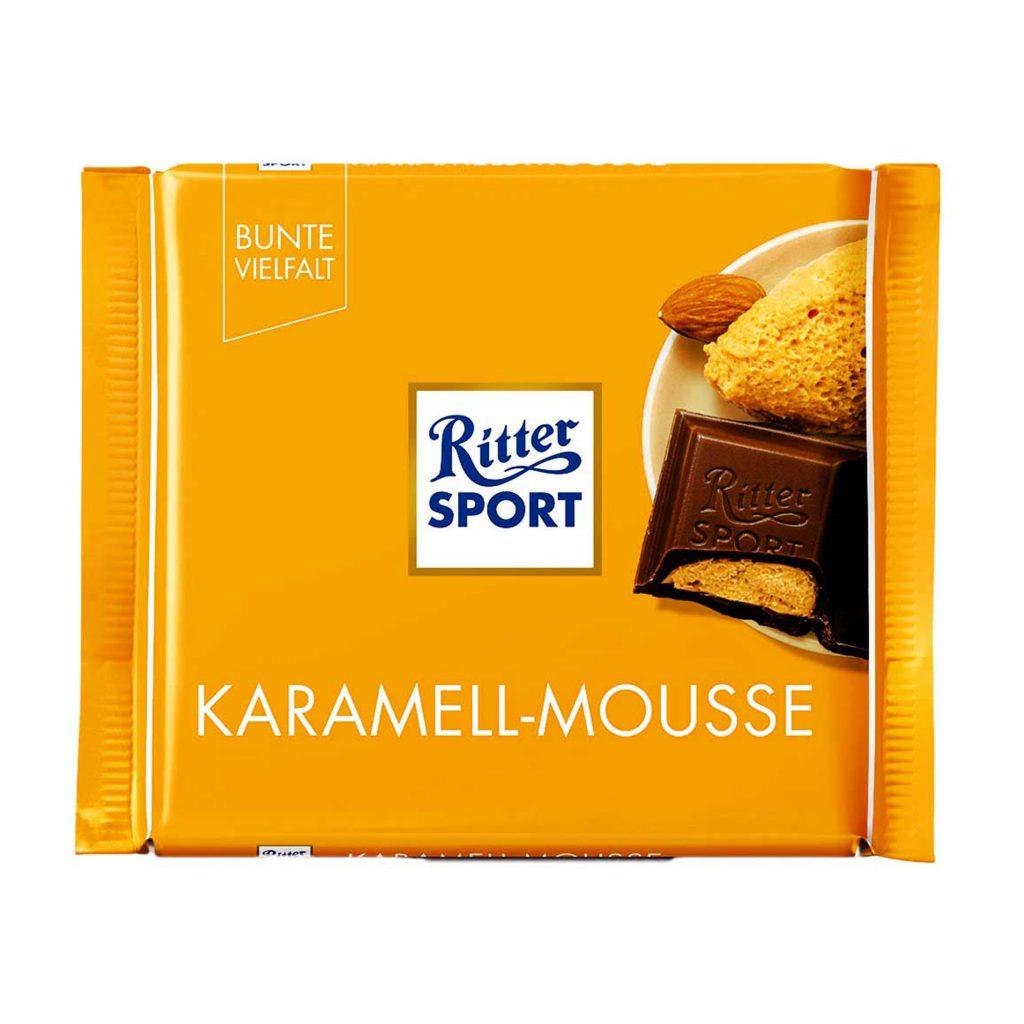 Шоколад молочный Ritter Sport Карамельный мусс 100гр