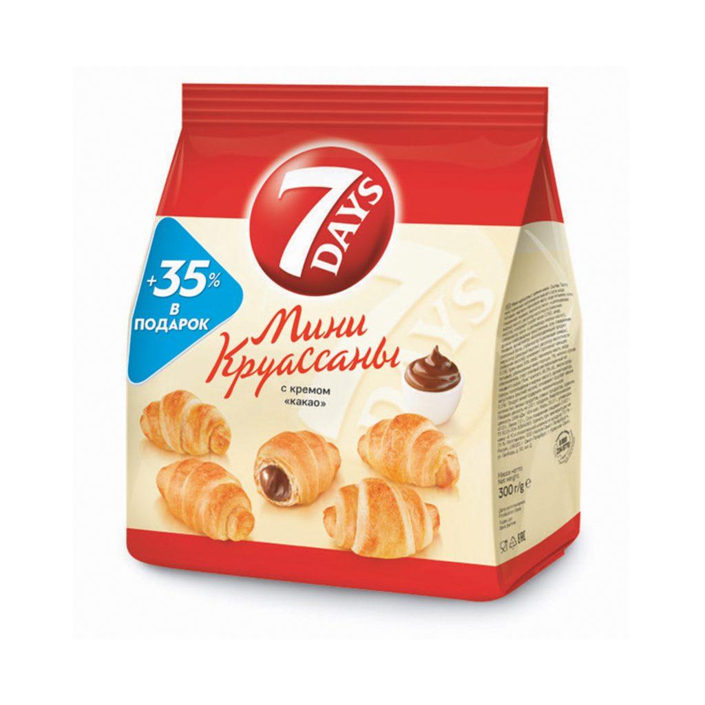 Круассан Мини 7 days с кремом какао 300г