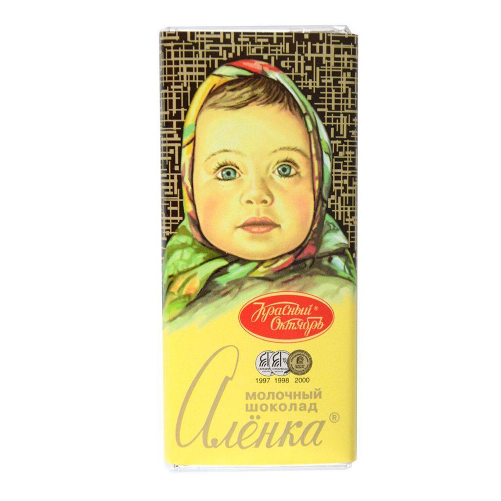 Шоколад молочный Аленка 60г