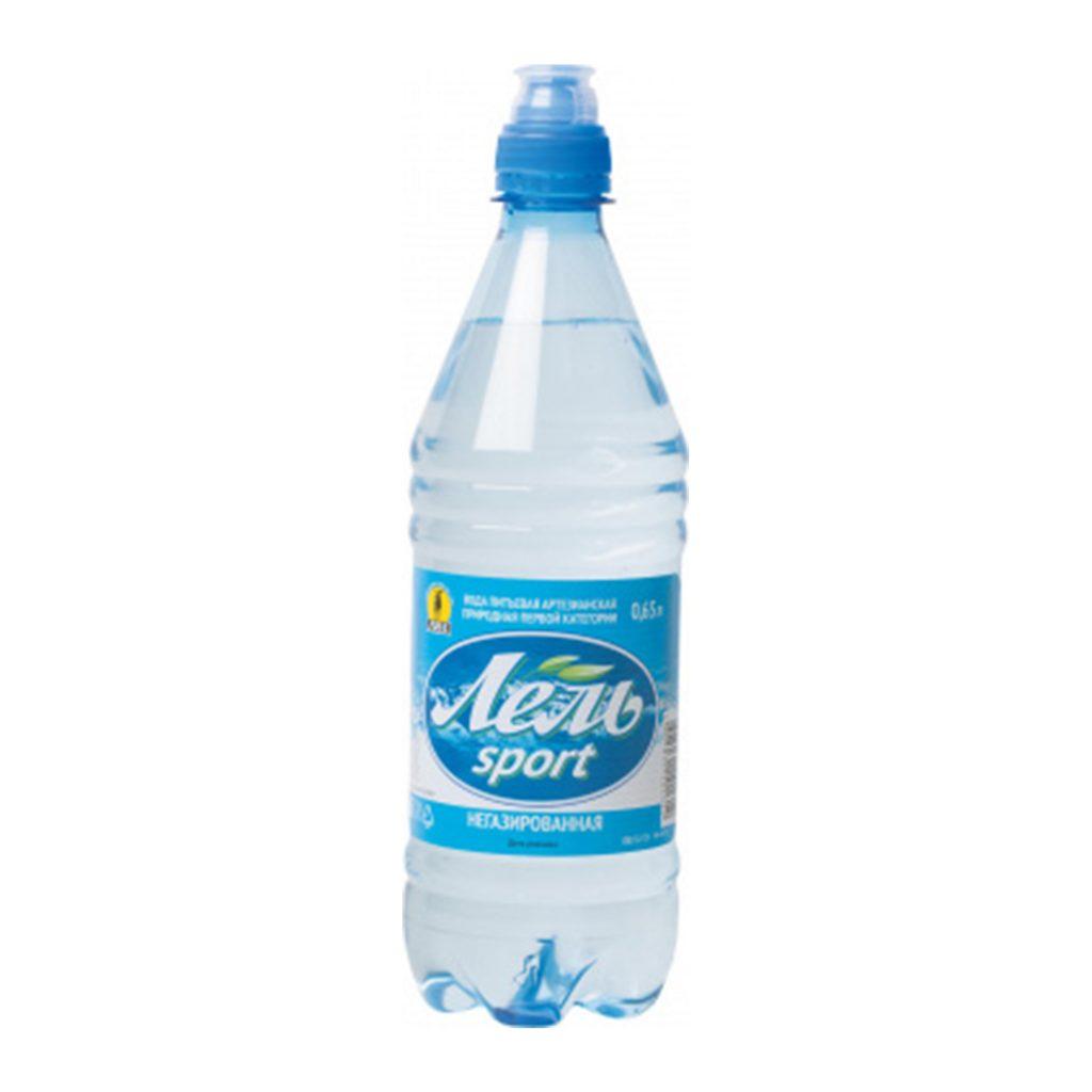 Вода питьевая Лель SPORT 0,65л не газ. ПЭТ