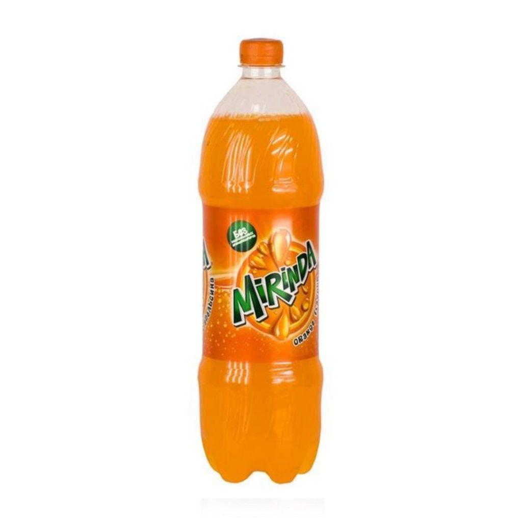 Вода газированная Миринда Оранж 0,5л