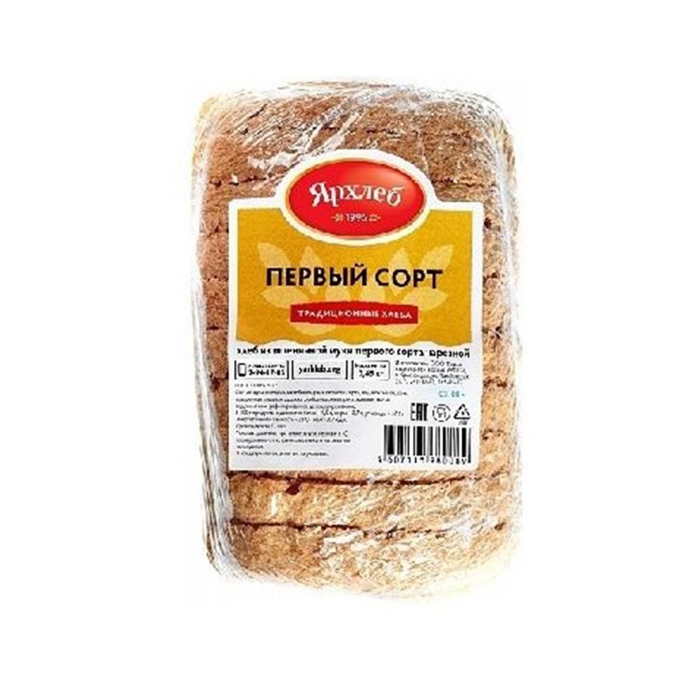 Хлеб из пшеничной муки первого сорта  нарезка 250г ЯрХлеб