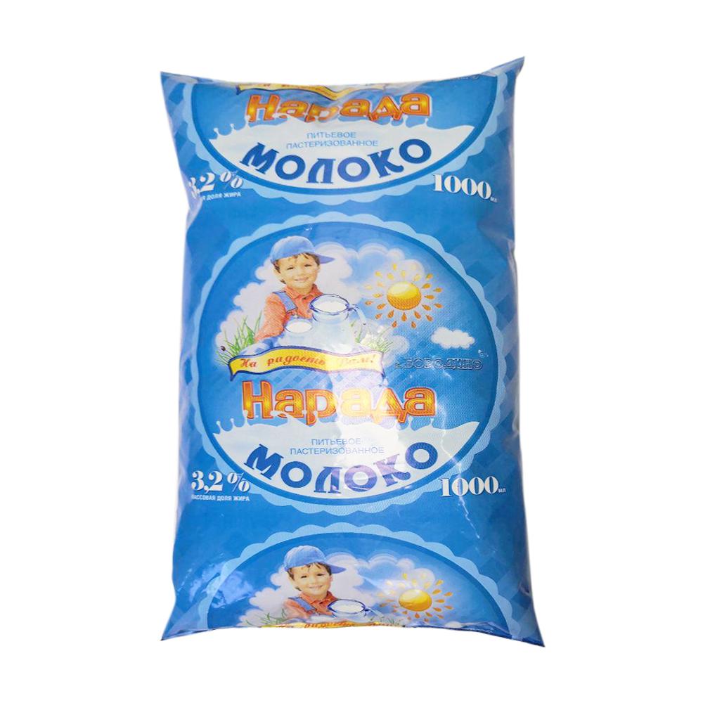 БЗМЖ Молоко питьевое НарадА 3,2% 1000 гр п/п