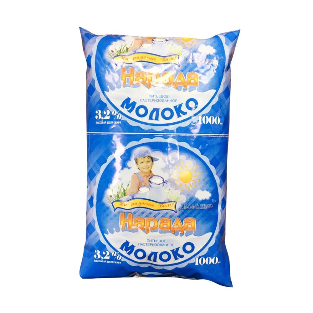 БЗМЖ Молоко питьевое НарадА 3,2% 1000 гр п/п40711