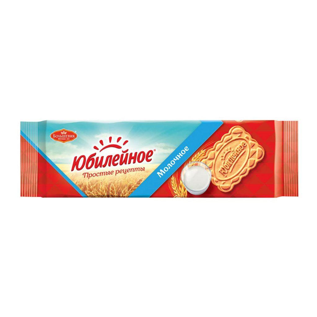 """Печенье """"Юбилейное"""" молоко витаминизир. в ФП 112г"""