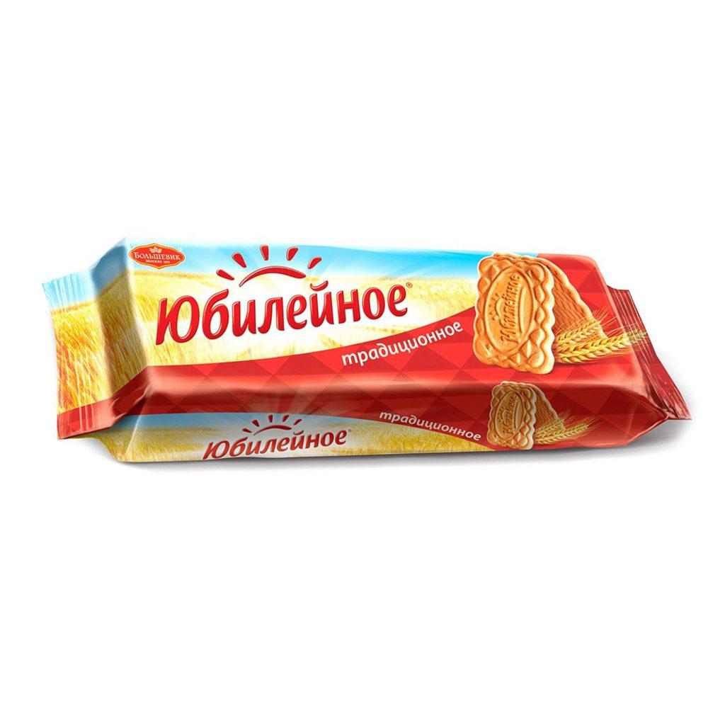 """Печенье """"Юбилейное"""" традиционное витаминизир. в ФП 112гх60"""