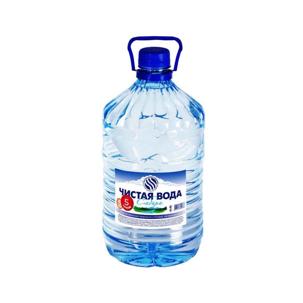Вода питьевая Чистая вода Сибири н/газ 5л