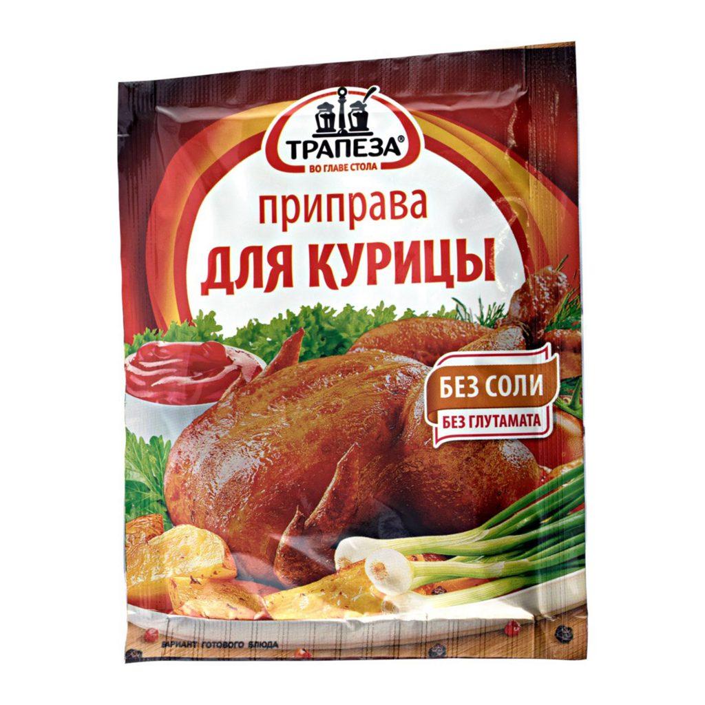 Приправа Трапеза Для курицы 15г/30