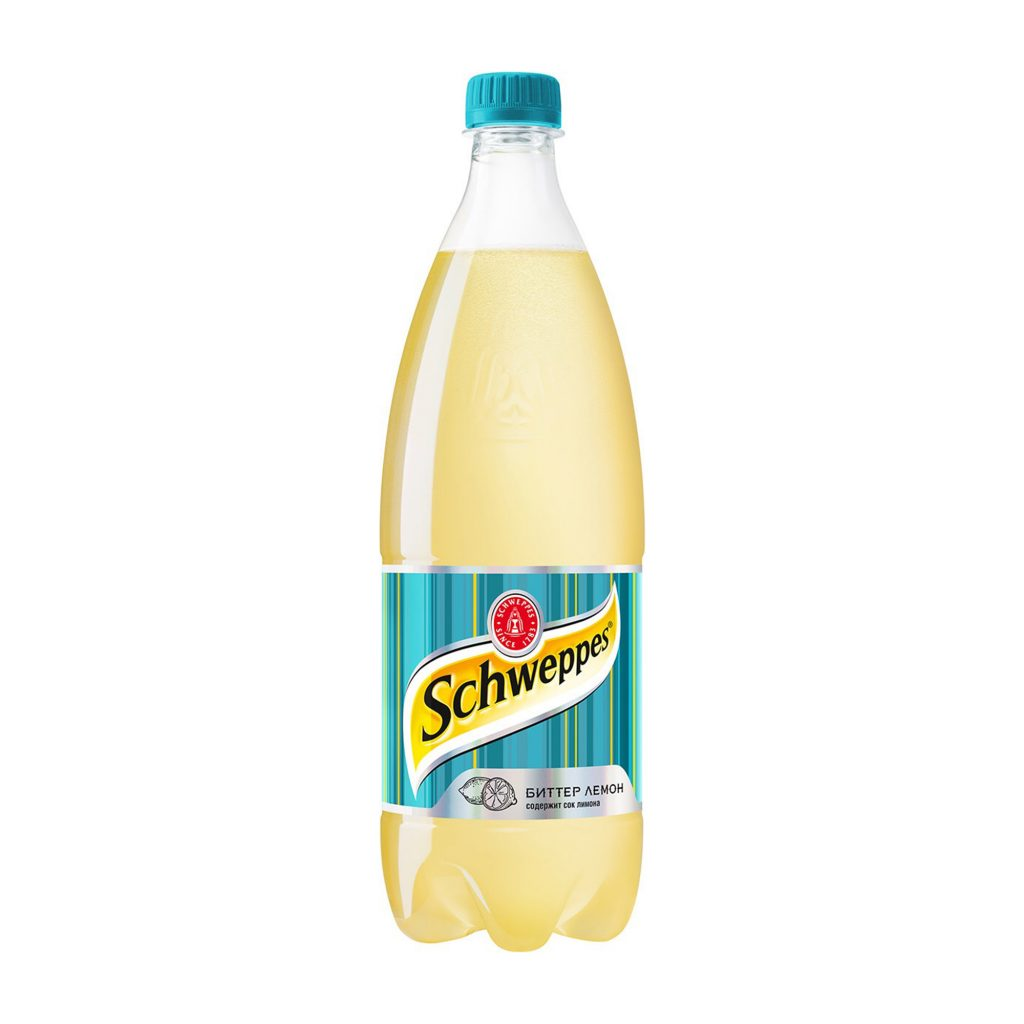 Тоник Швеппс горький лимон 0,9л Пэт