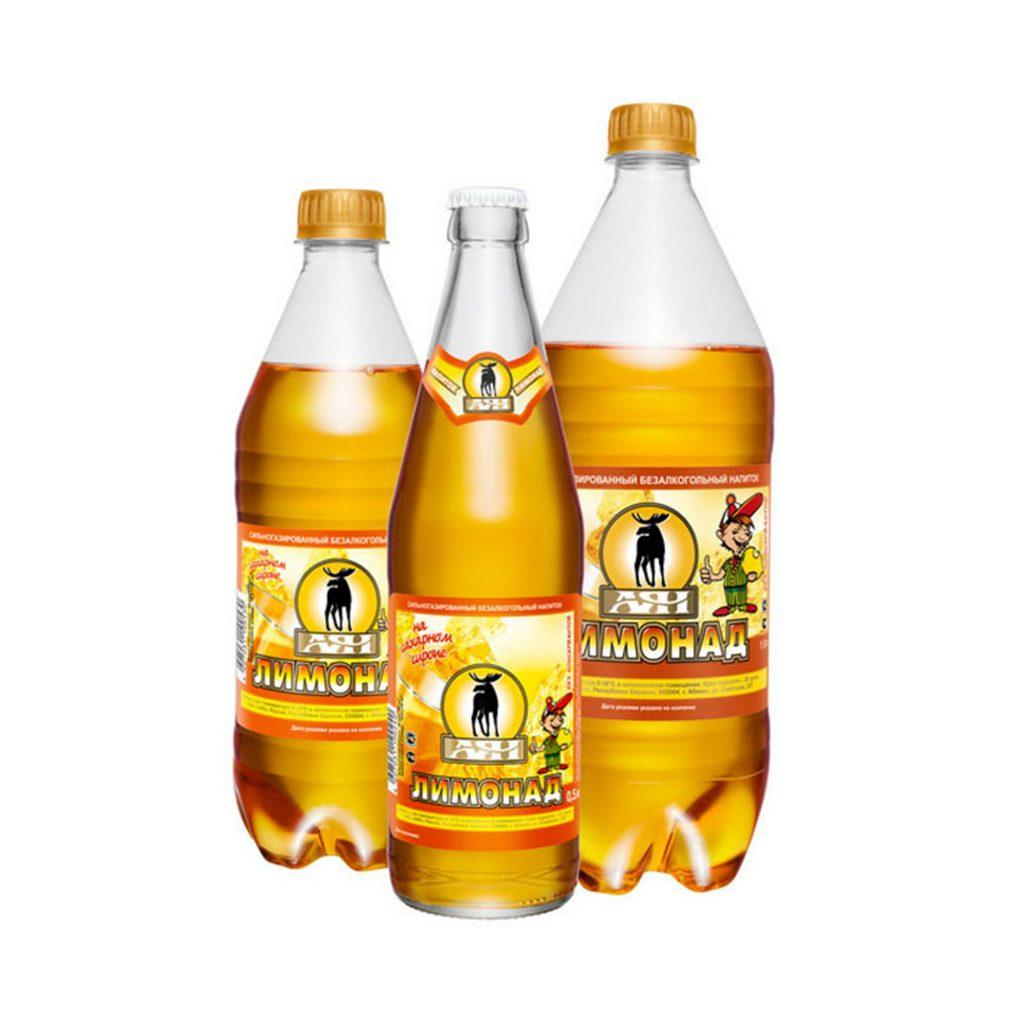 Напиток Аян Лимонад 1л Пэт