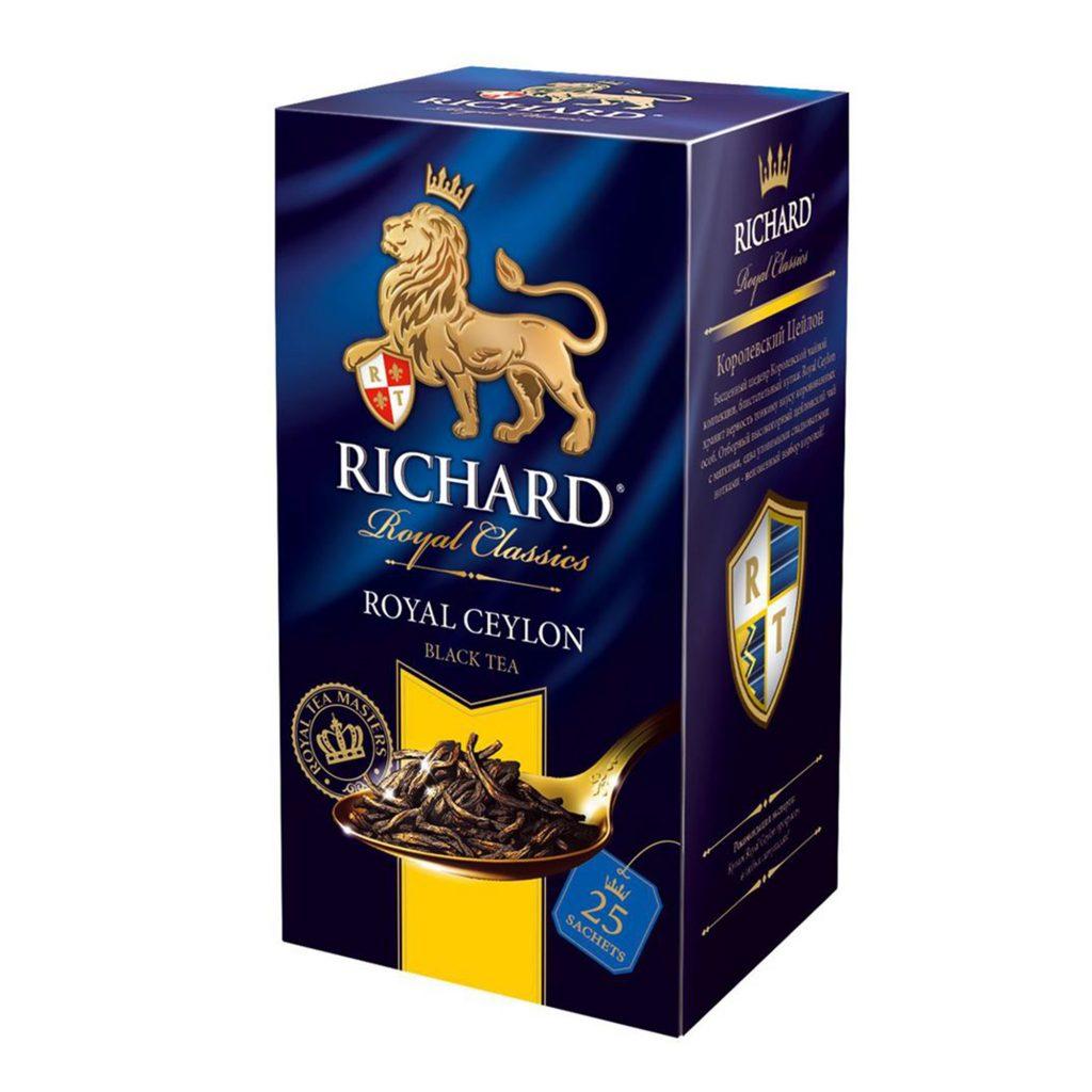 Чай Ричард Роял цейлон 25пак*12