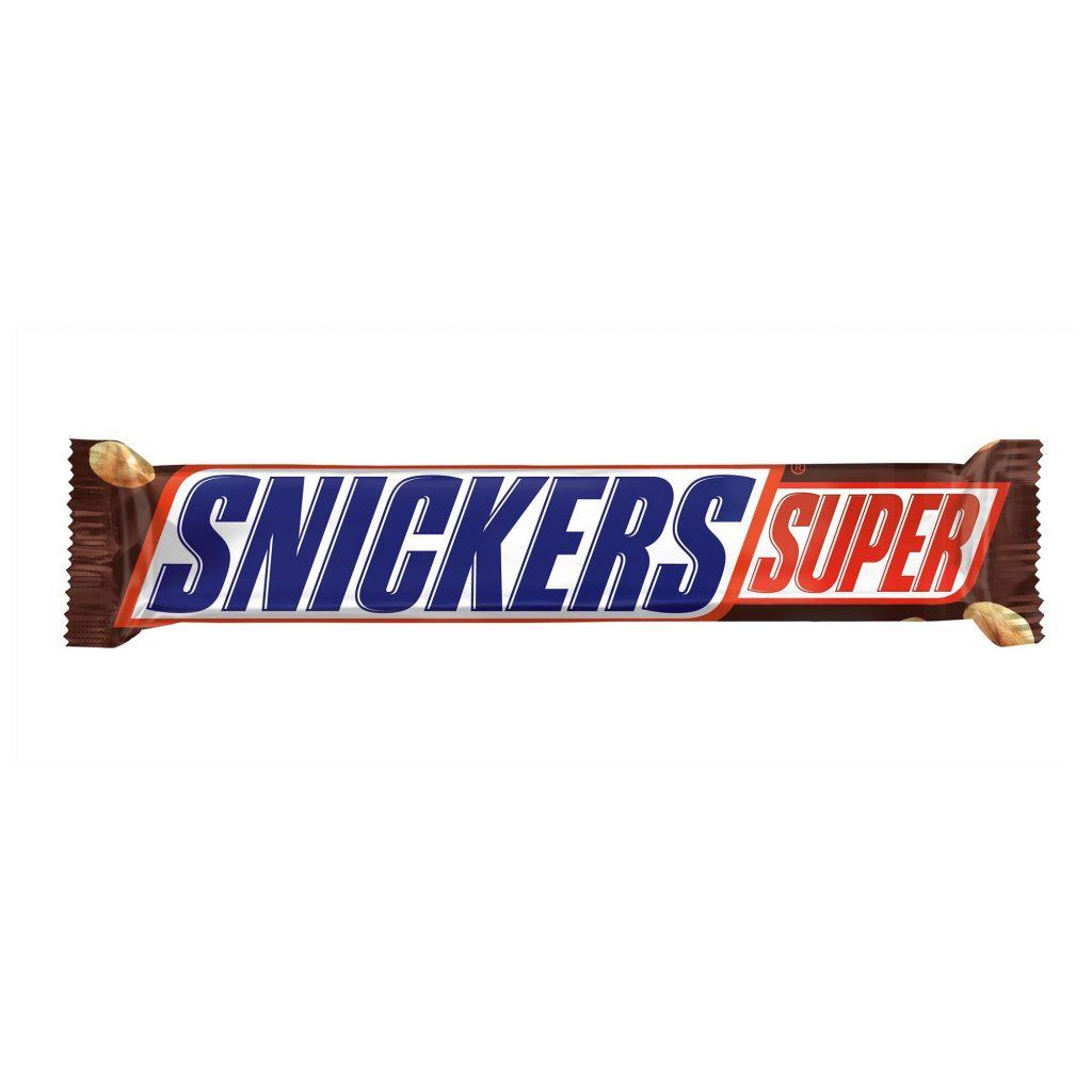 Шоколадный батончик Сникерс Супер 95гр