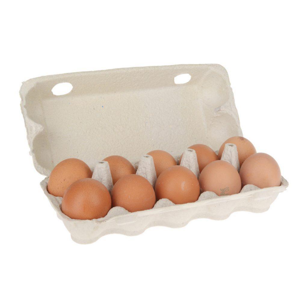 Яйцо куриное столовое 1 категория (10 шт вал)