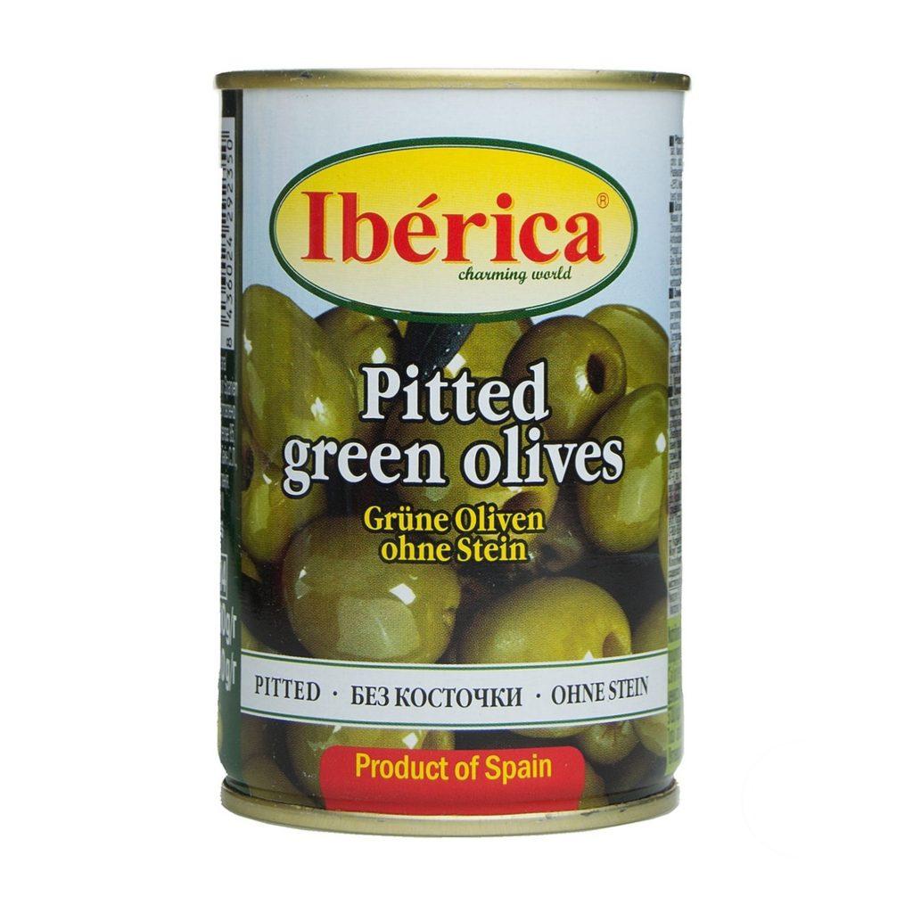 Оливки Иберика зеленые б/к 300г ж/б /12, шт