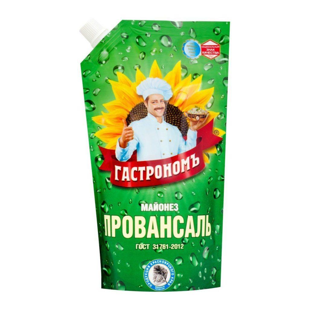 Майонез Гастрономъ Провансаль 67% 400гр д/п