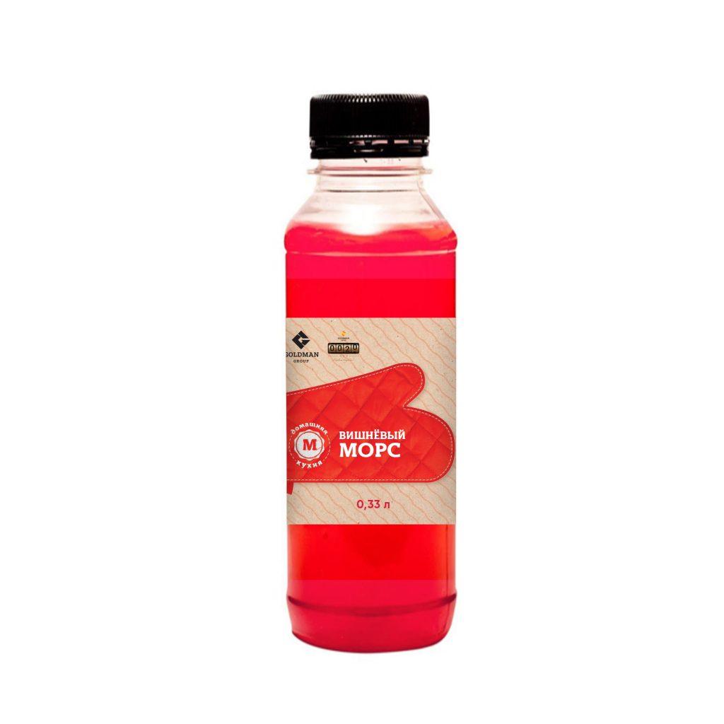 Морс вишневый 0,33л