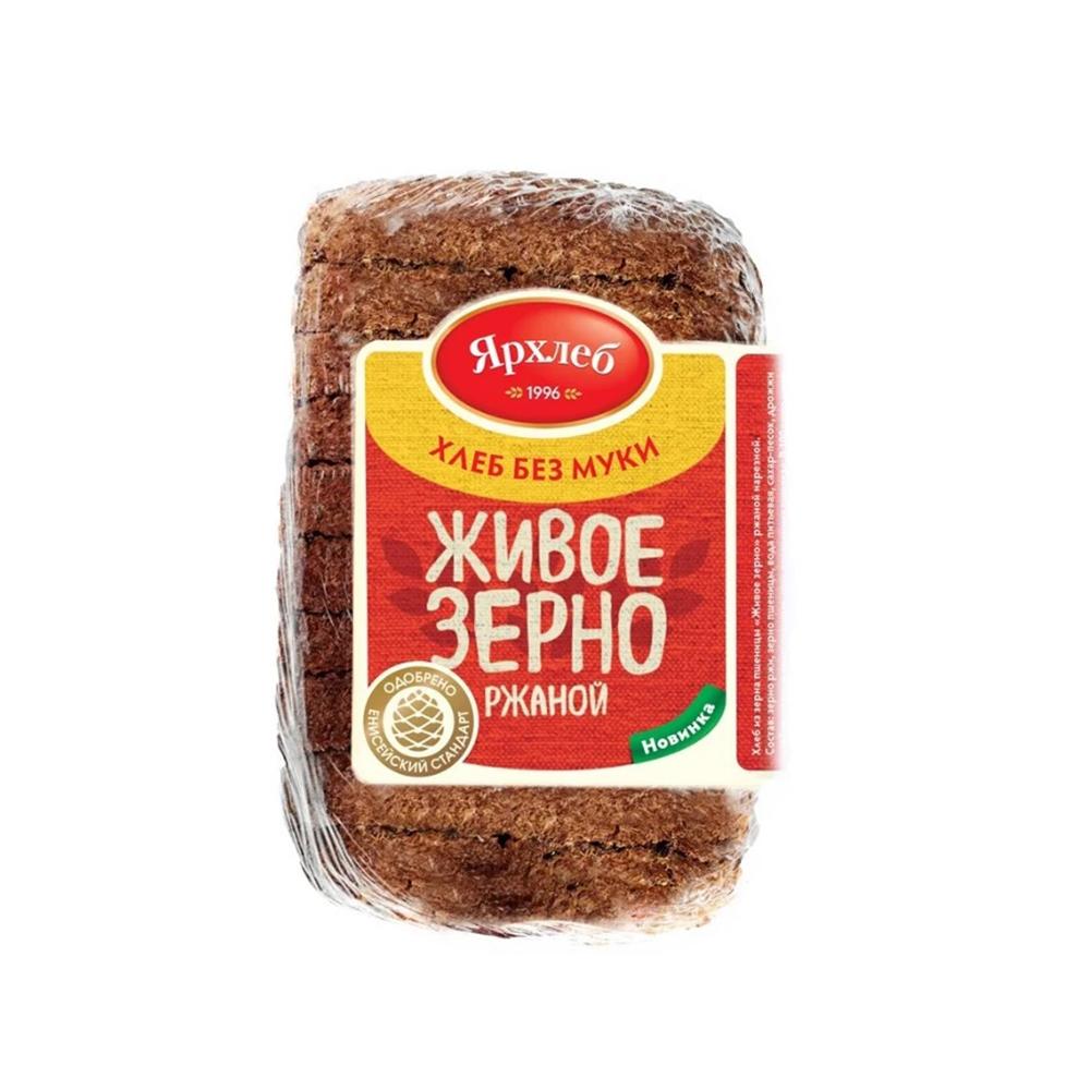 Хлеб ржаной Заводской 350г нарезка Ярхлеб40743