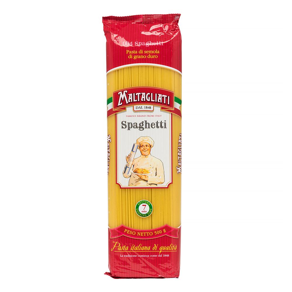 Макаронные изделия Мальтальяти №004 спагетти  классические 500гр