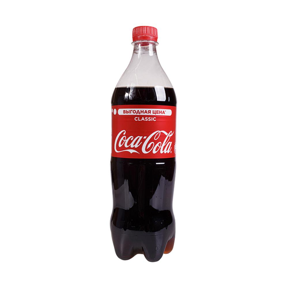 Вода газированная Кока-Кола 0,9л Пэт