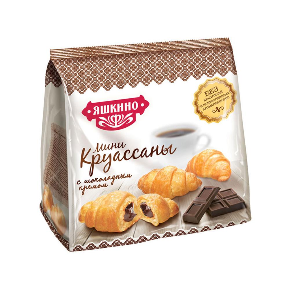Мини-круассаны Яшкино 180г с Шоколадным кремом