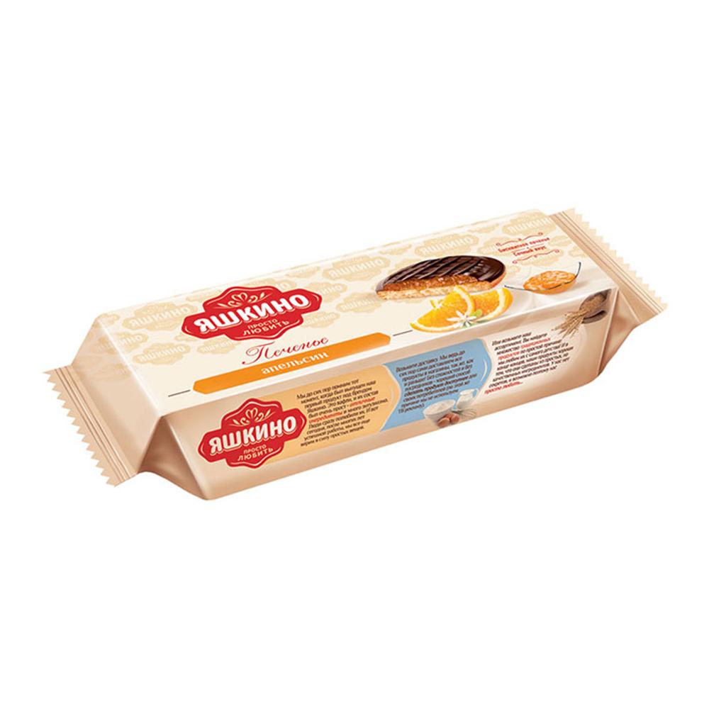Печенье сдобное Яшкино апельсин 137г