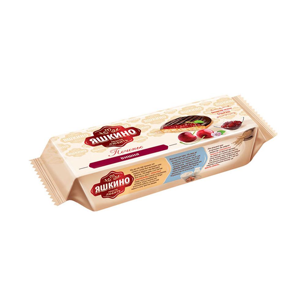 Печенье сдобное Яшкино вишня 137г