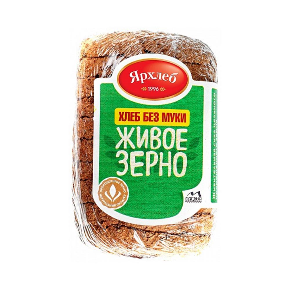 Хлеб из зерна пшеницы ЖИВОЕ ЗЕРНО нарезка 280г ЯрХлеб