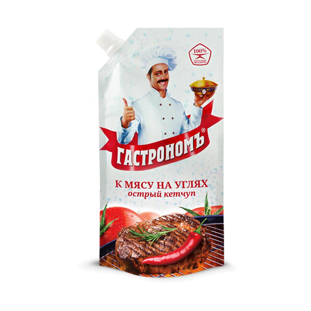 Кетчуп Гастрономъ Для барбекю 520г д/п