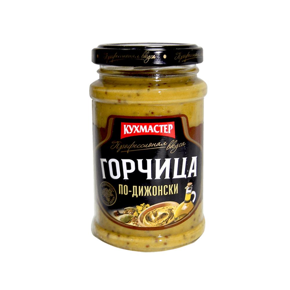 Горчица Кухмастер По-Дижонски с куркумой 190гр