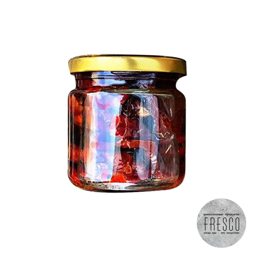 """Оливки ручной работы красные """"FRESCO"""", с/б 180гр, шт"""