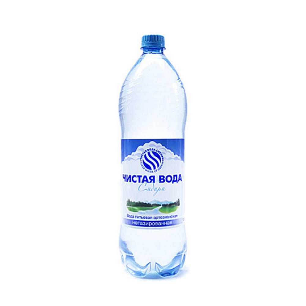 Вода негазированная Чистая вода Сибири 1л