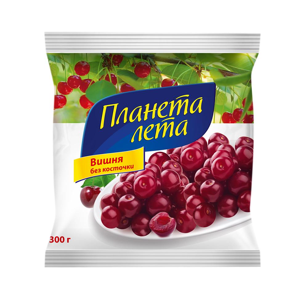 """Вишня свежемороженная """"Планета Лета"""", 300 гр."""