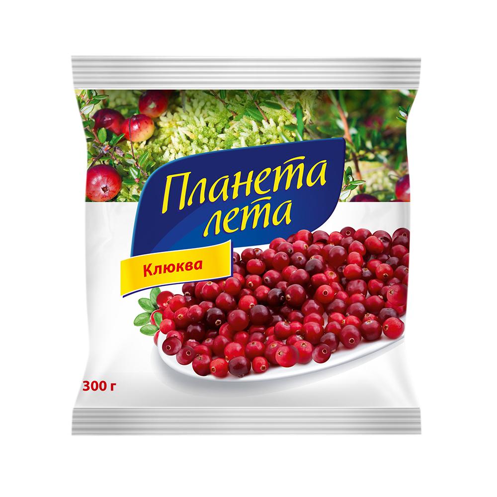 "Клюква свежемороженная ""Планета Лета"", 300 гр."