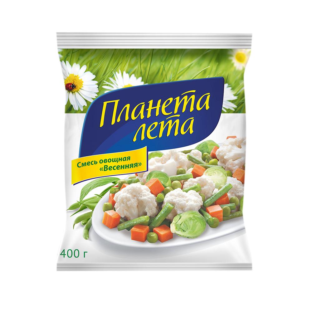 """Овощная смесь """"Весенняя"""" """"Планета Лета"""", 400 гр."""