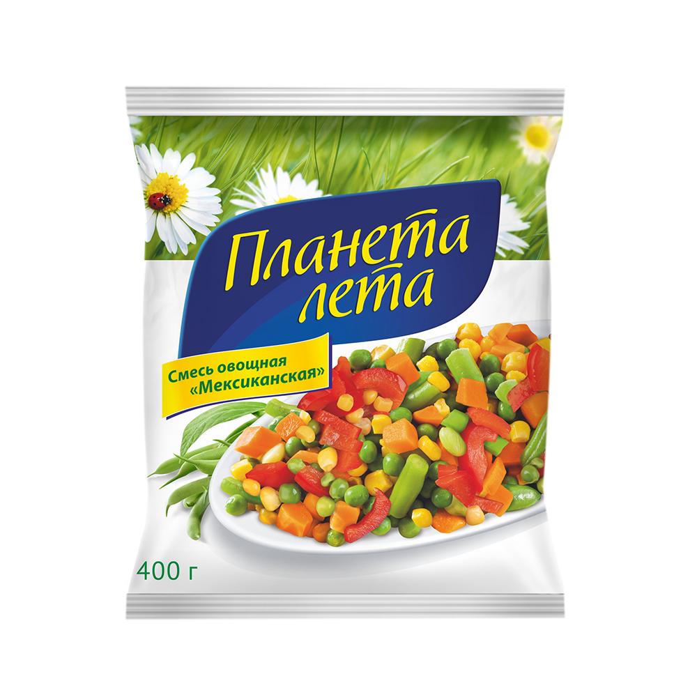 """Овощная смесь """"Мексиканская"""" """"Планета Лета"""", 400 гр."""